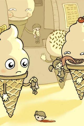 Funny-ice-cream-children
