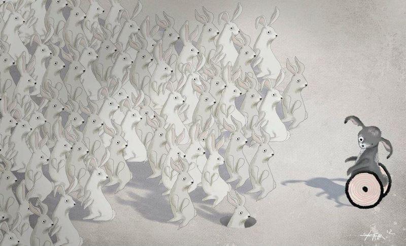 Greengreengrass_staring rabbits